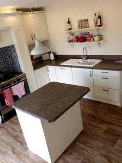 Newly Fitted Kitchen with island