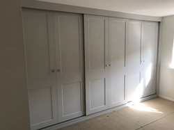 Fitted sliding wardrobe-Chesterfield