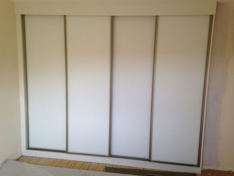 Sliding wardrobe fitted - Derbyshire