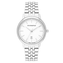 Dauphine Classic Silver 34mm Steel strap