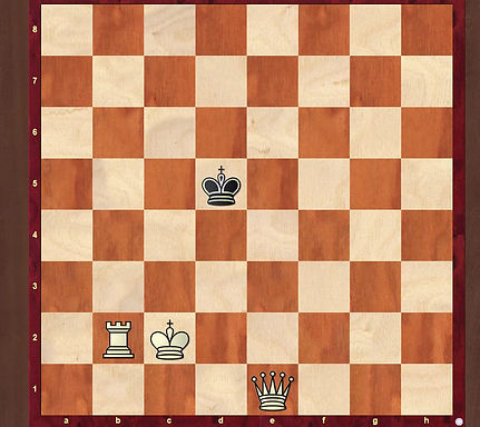 How to checkmate with a Rook and Queen