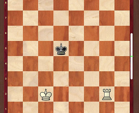 Check Mate with Rook and King Part 1