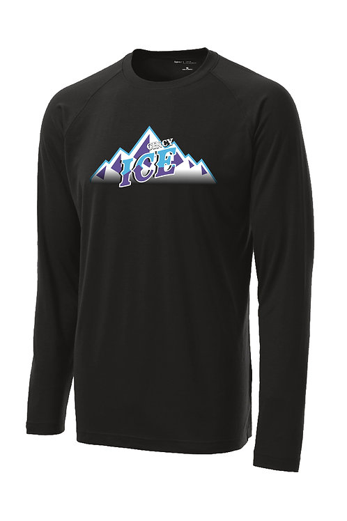 Cincy Ice poly/spandex performance long sleeve tee