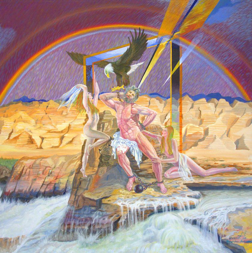 Prometheus 2007 - 48 x 48 acrylic on canvas.jpg