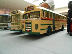 Paper scratch-built school buses