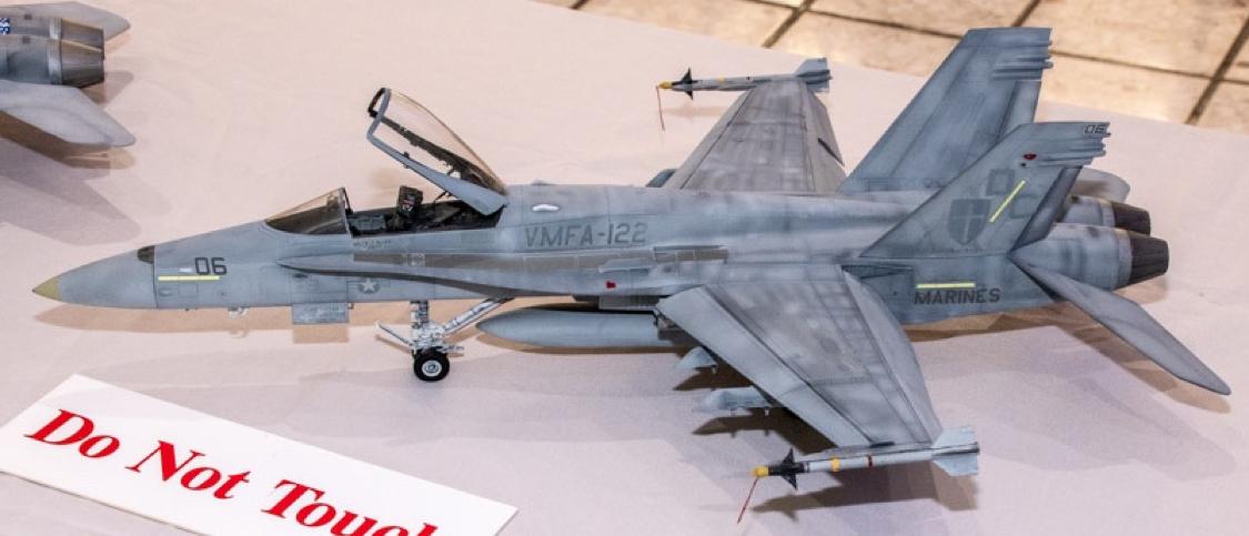 Rick Wongsing's F-18, No. 1