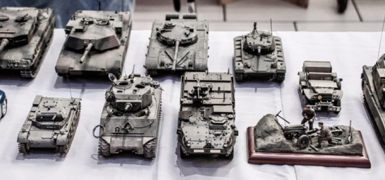 Bill Coster's Armored Vehicle Display.png