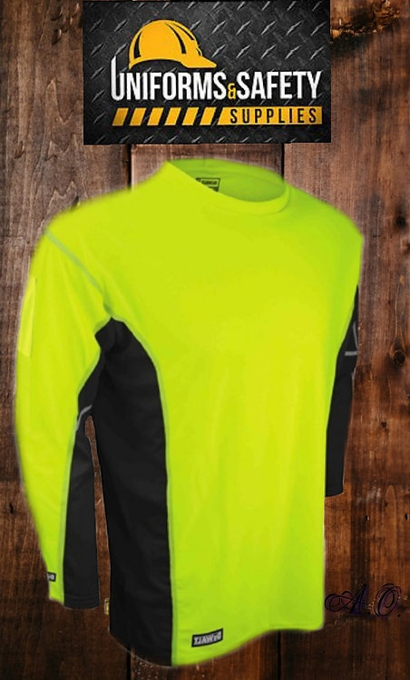 DeWALT Two-Tone Performance T-Shirt Long Sleeve
