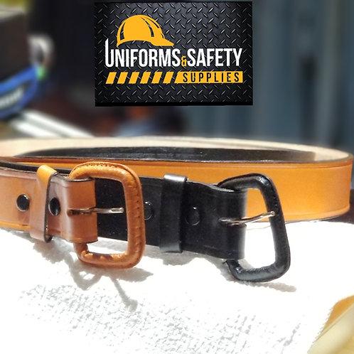 Men genuine leather Heavy-Duty Belt