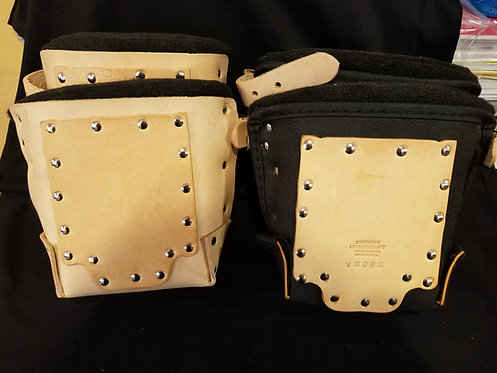 American Leather Craft - Heavy Duty Knee Pads (Leather/Nylon)