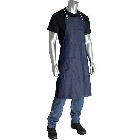 2-POCKETS DENIM APRON