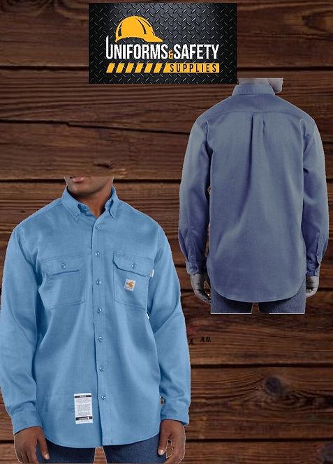 Carhartt Men's Original Fit, FR Cotton Blend Twill Work Shirt
