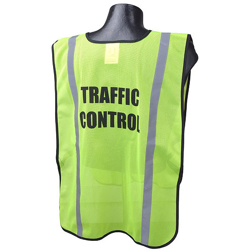 Printed Safety Vest (Traffic Control)