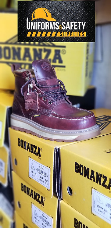BA-612 | Bonanza Moc Toe Work Boots