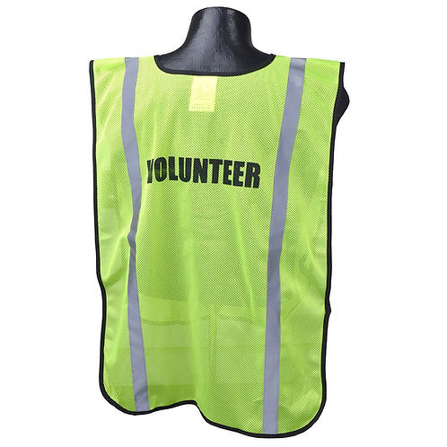 Printed Safety Vest (Volunteer)