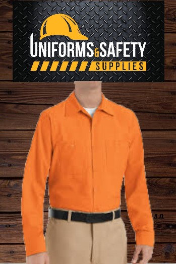 Enhanced Visibility Work Shirt Long Sleeve