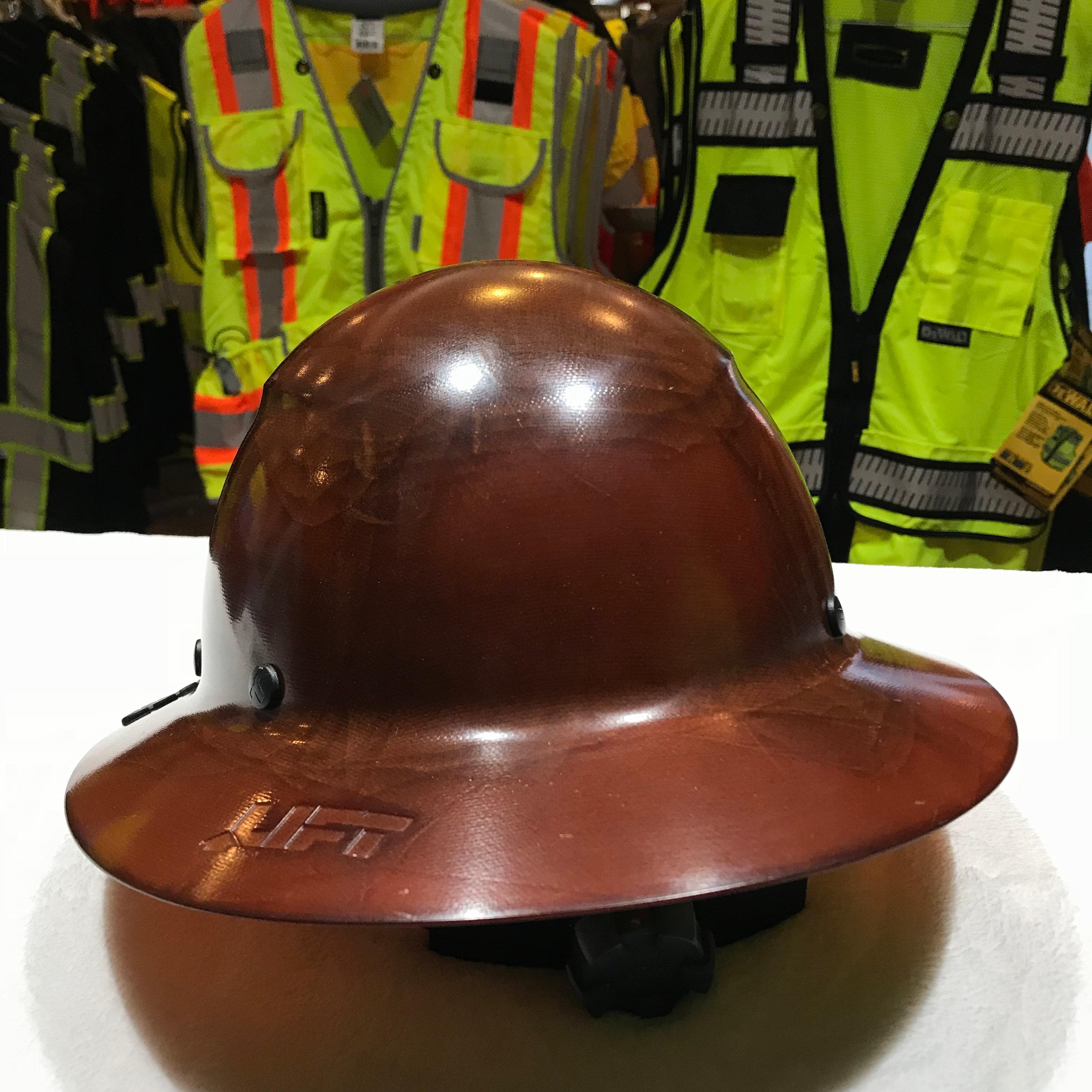 Lift Safety Dax Composite Full Brim Hard Hat   uniformsandsafety