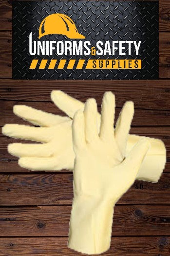 All Natural High Quality Latex Rubber Gloves Reusable Durable