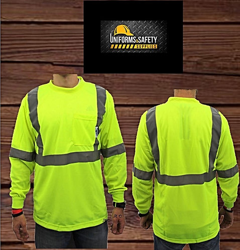 True Crest High Visibility Safety Shirt