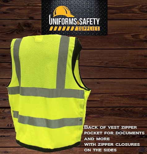 True Crest Superintendent Surveyor Vest