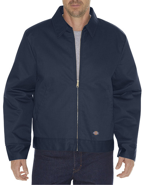 Dickie's #TJ15DN Men's Eisenhower Insulated Zip Up Jacket (Dark Navy 2XL-3XL)