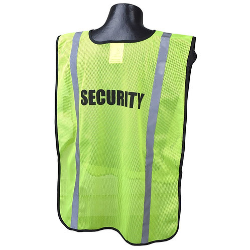 Printed Safety Vest (Security)