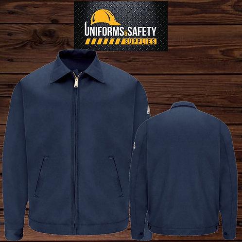 BULWARK ® Zip-In / Zip-Out Jacket - EXCEL FR® Semi-New Navy Blue