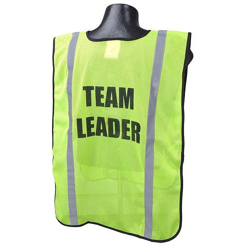 Printed Safety Vest (Team Leader)