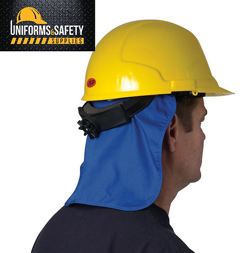TrueCrest Cooling Hard Hat Neck Shade Blue