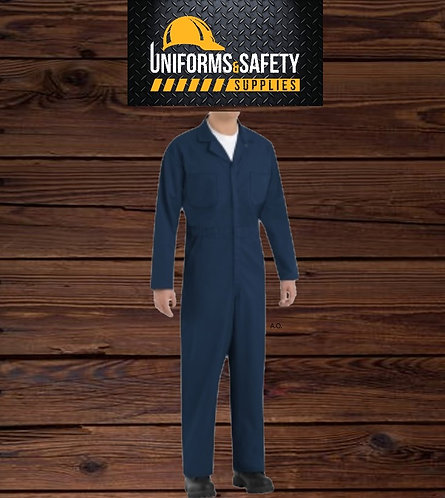 RED KAP® Twill Action Back Coverall