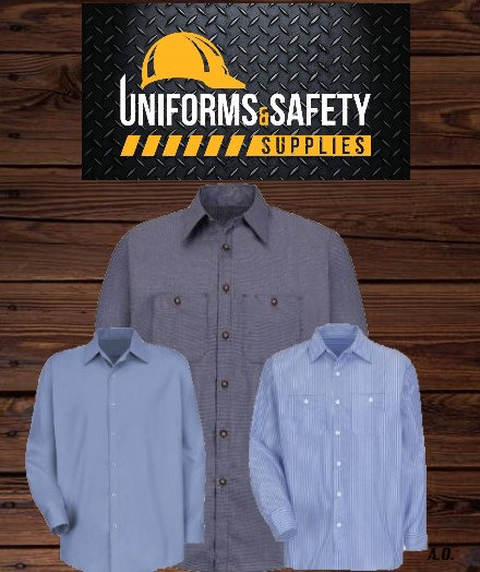 Industrial Work Shirt Semi-New (3 pieces)