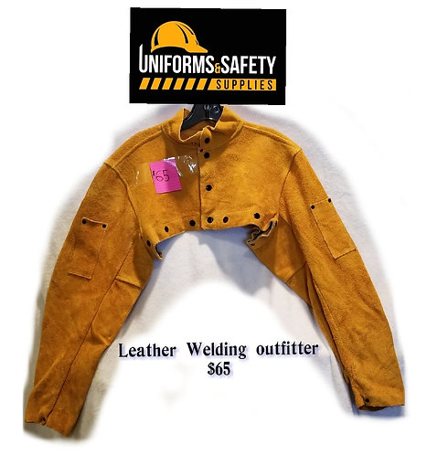 Welding Leather Sleeves/Imp Lth Cape