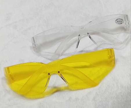 99-T8000-C -  LENS SAFETY GLASSES - WISDOM