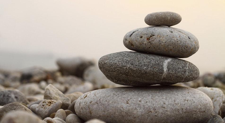 Praxis für Psychotherapie, Zen Steine