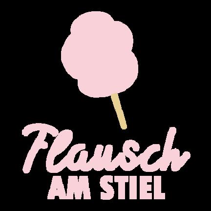 Flausch am Stiel Logo Zuckerwatte