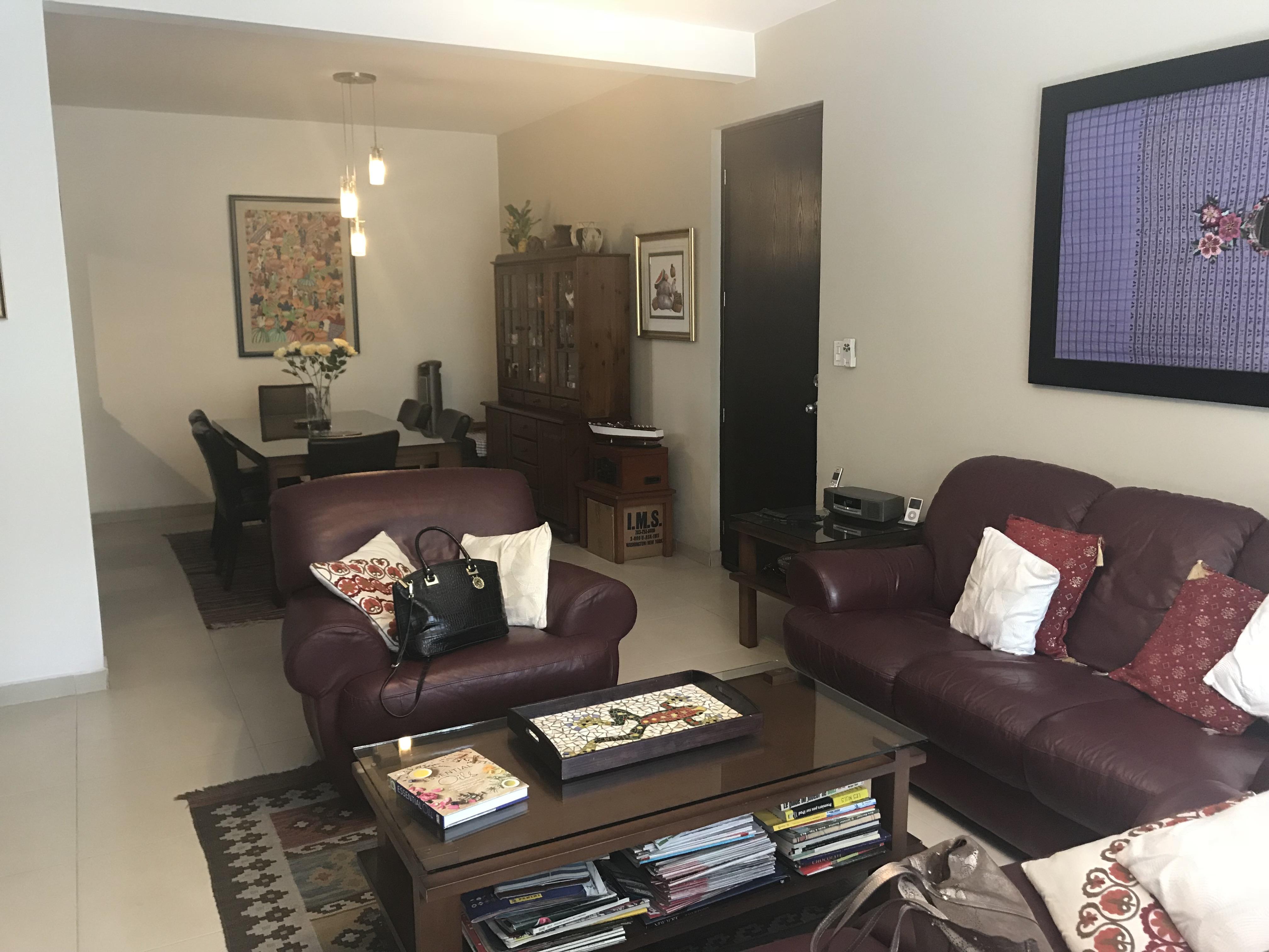 SBA0102 Apartamento en Venta San Benito sala comedor 2