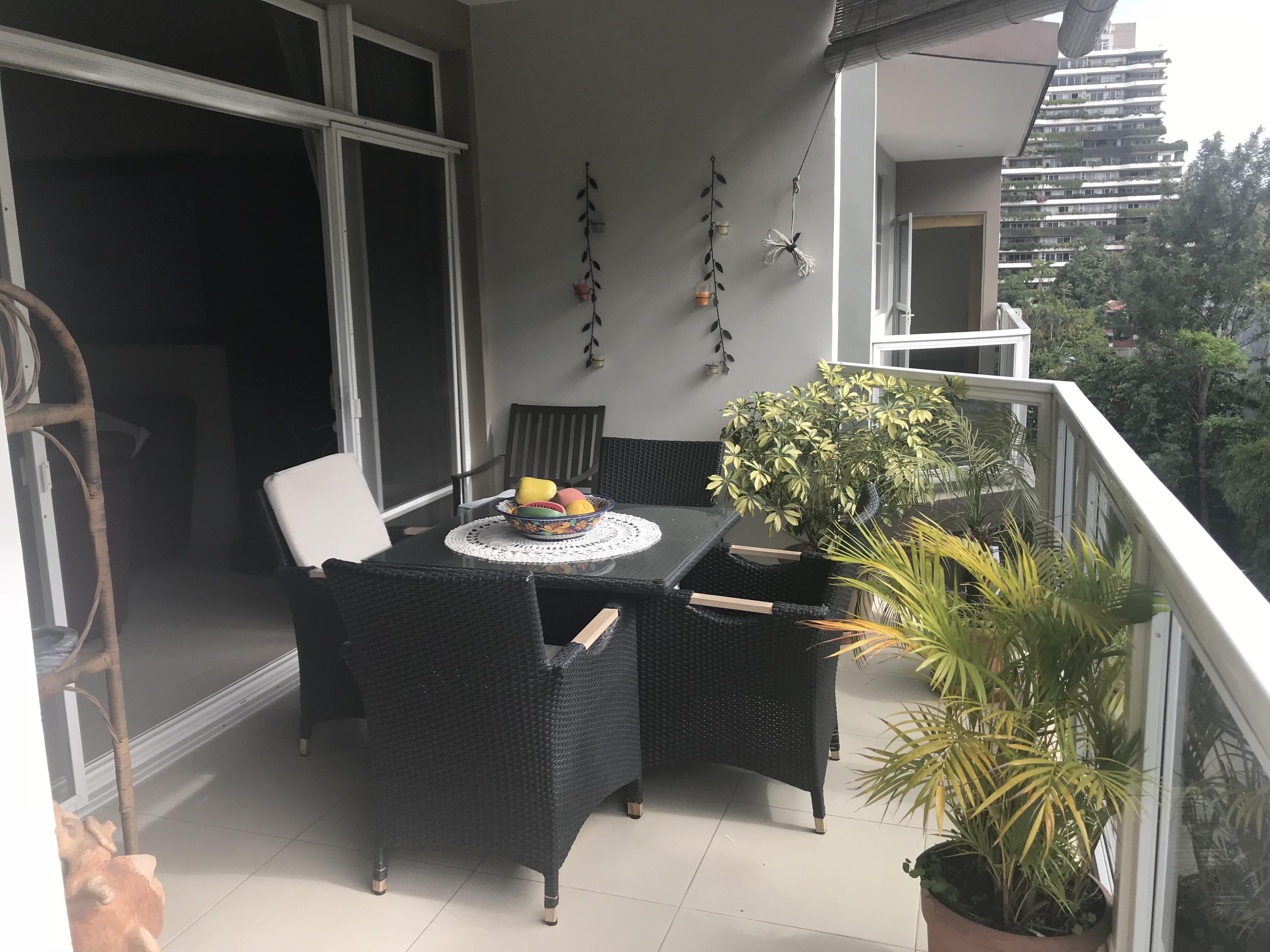 SBA0102 Apartamento en Venta San Benito terraza