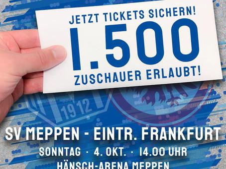 SVM-Frauen empfangen Eintracht Frankfurt