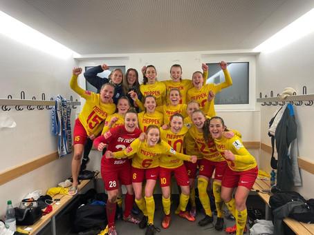 SVM-Frauen feiern Punktgewinn bei Eintracht Frankfurt
