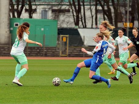 SVM-Frauen verpassen Einzug ins DFB-Pokal-Viertelfinale knapp