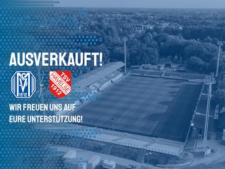 Heimspiel gegen Havelse ausverkauft!