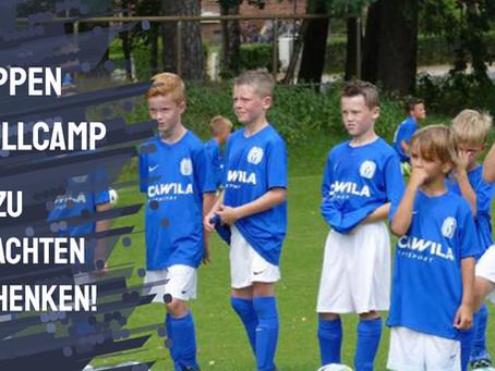Fußballcamp 2021 - das perfekte Weihnachtsgeschenk für Jungs und Mädels