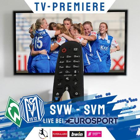 SV Meppen Frauen LIVE auf MAGENTA SPORT und Eurosport 1