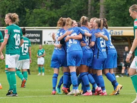 Testspielerfolg gegen SV Werder Bremen