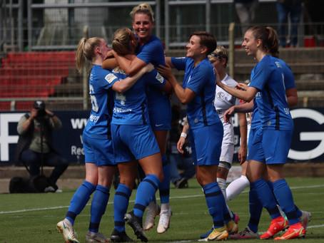 SVM-Frauen ziehen in 2te DFB-Pokal-Runde ein