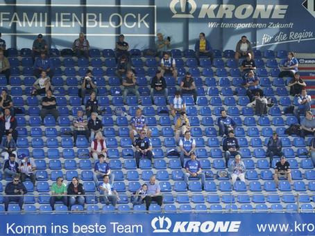 Aktuell nur Sitzplätze in der Hänsch-Arena Meppen