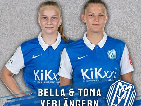 SVM-Frauen binden Bundesliganachwuchs