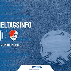 Spieltagsinfo: Heimspiel gegen Türkgücü München