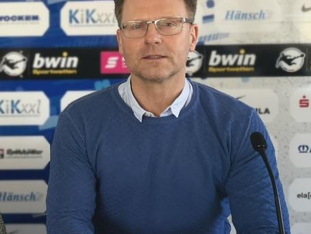 Rico Schmitt ist neuer Cheftrainer