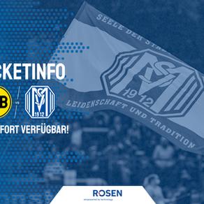 Weiteres Tickets aus Dortmund erhalten